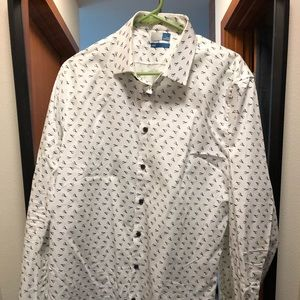 14th & Union white Button Down